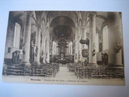 MOERZEKE : Binnenzicht Der Kerk - Belgium