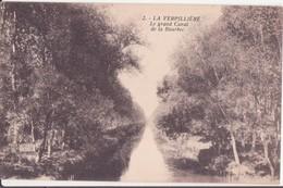 CPA - 2. LA VERPILLIERE - Le Grand Canal De La Bourbec - Frankreich
