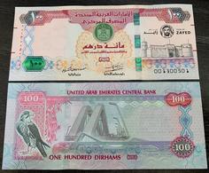 United Arab Emirates UAE 100 Dirhams 2018 Banknote - Year Of Zayed Commemorative - P NEW - UNC - Emirats Arabes Unis
