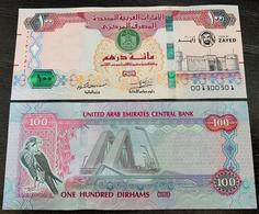 United Arab Emirates UAE 100 Dirhams 2018 Banknote - Year Of Zayed Commemorative - P NEW - UNC - Ver. Arab. Emirate