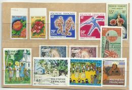 Polynésie, Lot De Timbres Non Dentelés Neufs ** Cote YT 513€ - Collections, Lots & Séries