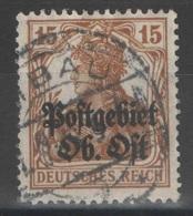 Russie - Occupation Allemande - YT 6 Oblitéré - 1916-19 Occupation: Germany