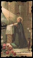 """San Gabriele Dell' Addolorata - Patrono Della Gioventù Cattolica Italiana - (Milano 1908) / """"Riproduzione"""" - Santini"""