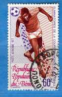 (Us3) ) BENIN ° 1977 - Aériens - FOOTBALL - Yvert. 273.  Vedi Descrizione. - Benin – Dahomey (1960-...)