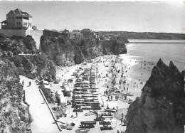 Portugal Algarve Praia Da Rocha Plage Beach Postcard PB Circulado Voyagé Traveled - Lisboa
