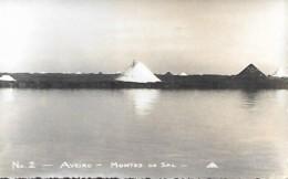 Portugal Aveiro Montes De Sal (nr.2) Monticules De Sel; Saline Mounds Of Salt, Postacard PB - Lisboa