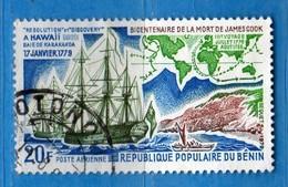 (Us3) ) BENIN ° 1978 - Aériens - JAMES COOK. - Yvert. 292.  Vedi Descrizione. - Benin – Dahomey (1960-...)