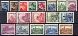 Böhmen Und Mähren 1939 Mi 20-37 ** [070419XXVI] - Occupation 1938-45