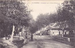 CPA ALGERIE - DUPERRE En 1908 (Ouest D'AFFREVILLE) - Grande Rue - Côté D'Oran - Andere Steden