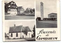 Gambsheim. Souvenir De.... Multivues. - Gambsheim