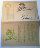 """Deutsches Reich Freistempel INFLA """"HAMBURG 1923"""" Auf Werbe-Postkarte > Schleswig (Brief Inflation Cover - Storia Postale"""