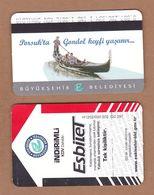 AC - BUS, ROWING BOAT SINGLE RIDE CARD  FOR STUDENT ESKISEHIR, TURKEY PUBLIC TRANSPORTATION - Transportation Tickets