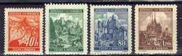Böhmen Und Mähren 1940 Mi 38-41 ** [070419XXVI] - Occupation 1938-45