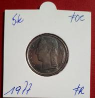 5 Frank Ceres 1977 Frans - FDC - 05. 5 Francs