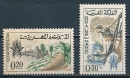 °°° MAROC - Y&T N°459/60 - 1963 MNH °°° - Marruecos (1956-...)