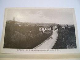 Firenze - Bandino - Via S. Marcellino E Panorama Delle Colline Di Arcetri - Cartolina D'epoca Originale - Firenze