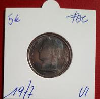 5 Frank Ceres 1977 Vlaams - FDC - 05. 5 Francs