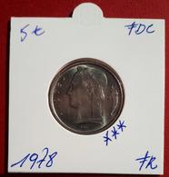 5 Frank Ceres 1978 Frans - FDC - 05. 5 Francs
