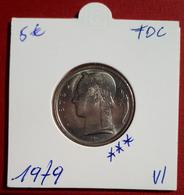 5 Frank Ceres 1979 Vlaams - FDC - 05. 5 Francs