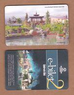 AC - BUS, TRAM DOUBLE RIDE CARD JAPAN PARK KONYA, TURKEY PUBLIC TRANSPORTATION - Transportation Tickets