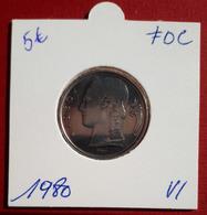 5 Frank Ceres 1980 Vlaams - FDC - 05. 5 Francs