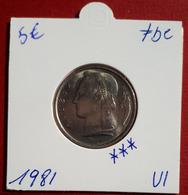 5 Frank Ceres 1981 Vlaams - FDC - 05. 5 Francs