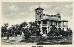 Italian East Africa, Unknown Building (?), Architecture (1930s) Postcard - Cartoline