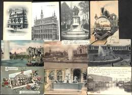 Bruxelles - Lot Intéressant 19 Cartes (train Tram....) (Petit Prix) - Lots, Séries, Collections