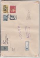 JOUGOSLAVIA REGISTERED MICHEL 1289, 1543, 1544, 1654 DUCK TITO OLD JARE - 1945-1992 République Fédérative Populaire De Yougoslavie