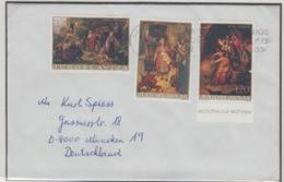 JOUGOSLAVIA EXPRESS MICHEL 1666/1671 PAINTING - 1945-1992 République Fédérative Populaire De Yougoslavie