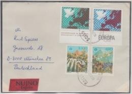 JOUGOSLAVIA EXPRESS MICHEL 1689/90, 1692/93 NATURE EUROPA - 1945-1992 République Fédérative Populaire De Yougoslavie