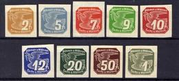 Böhmen Und Mähren 1939 Mi 42-50 ** [070419XXVI] - Occupation 1938-45