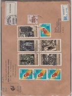 JOUGOSLAVIA REGISTERED MICHEL 1758/62, SOCIAL GRAFITI - 1945-1992 République Fédérative Populaire De Yougoslavie
