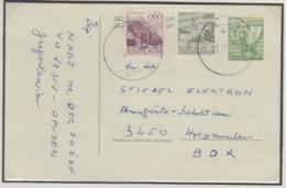 JOUGOSLAVIA  2 POST CARD - 1945-1992 République Fédérative Populaire De Yougoslavie