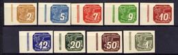 Böhmen Und Mähren 1939 Mi 42-50 ** [070419XXVI] - Besetzungen 1938-45
