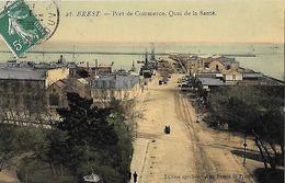 Brest - Port De Commerce - Quai De La Santé - Brest