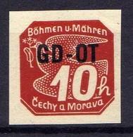 Böhmen Und Mähren 1939 Mi 51 ** [070419XXVI] - Occupazione 1938 – 45