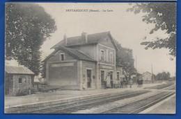 NETTANCOURT         La Gare   Animées      écrite En 1919 - France