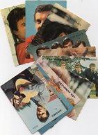Vends10 Mini Cartes    Vedettes Des Années 60 Publicitaire - Cartes Postales