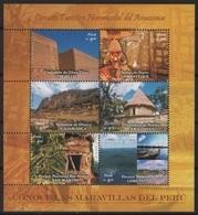 Peru (2006) Yv. 1569/74   /  Heritage - Archeology - Archeologie - Arqueologia - Beach - Culture - Tourism - Archeologie