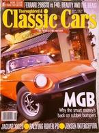 CA018 Autozeitschrift Classic Cars, Jänner 1998, Englisch, Guter Zustand - 1950-Now