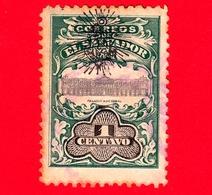 Nuovo - MH - EL SALVADOR - 1907 - Palacio Nacional - Servizio - UPU - Sovrastampato - 1 - El Salvador