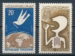 °°° TUNISIA - Y&T N°573/74 - 1963 MNH °°° - Tunisia (1956-...)