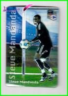 """Magnet En Relief  Carrefour 2010 Les Joueurs De L'Equipe De France De Football """" Steve MANDANDA """" - Letters & Digits"""