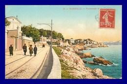 Marseille * Promenade De La Corniche  (scan Recto Et Verso ) - Vieux Port, Saint Victor, Le Panier