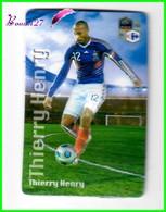 """Magnet En Relief  Carrefour 2010 Les Joueurs De L'Equipe De France De Football """" Thierry HENRY """" - Letters & Digits"""