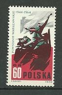POLAND MNH ** 1378 ANNIVERSAIRE INSURRECTION DU GHETTO DE VARSOVIE - 1944-.... Republik