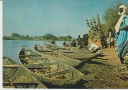 CP - PHOTO - REPUBLIQUE DU NIGER - AYOROU - PIROGUES - JEAN CAFFE - Niger