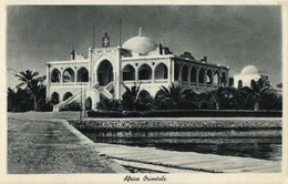 Italian East Africa, Unknown Mosque Or Palace (1930s) Postcard - Cartoline