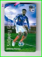 """Magnet En Relief  Carrefour 2010 Les Joueurs De L'Equipe De France De Football """" Sidney GOVOU """" - Letters & Digits"""
